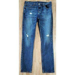 Levi's Mens 511 Slim Fit Blue Jeans Size 34 x 36